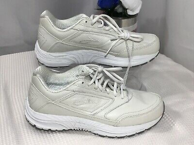 c46ca065962 Womens BROOKS DYAD Walker Off White Walking Shoes Medium (B) Check All Size