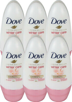 6 x 50 ml Dove Limited Edition Winter Care 48h Anti-Transpirant Roll On