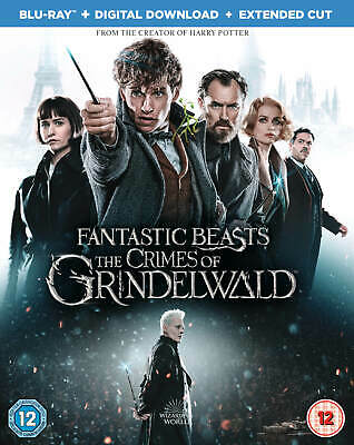 Fantastic Beasts The Crimes of Grindelwald Blu-Ray + Digital Download & Extended