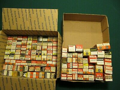 Lot of 120+ Vintage Vacuum Tubes-Untested,NOS & Used...6AU4GTB, 6BH8, 6AX3, more