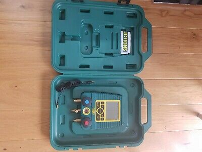 Refco Digimon 3 Plus Digital Manifold Set for Air Con and Refrigeration Service