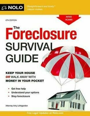 NEW The Foreclosure Survival Guide By Amy Loftsgordon Paperback Free Shipping