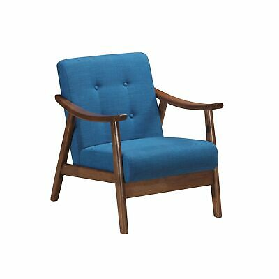 Magnificent Home Fare Mid Century Modern Beige Accent Chair 214 87 Cjindustries Chair Design For Home Cjindustriesco
