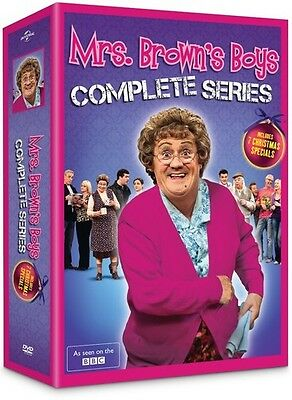 Mrs Brown's Boys: Complete Series - 8 DISC SET (2015, DVD New)