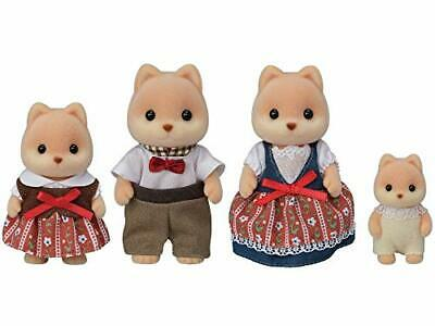 Sylvanian Families United Vintage 80s Sylvanian Families Baby Forester Dog Outstanding Features Dolls
