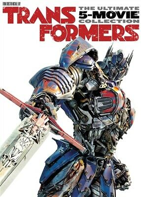 TRANSFORMERS THE ULTIMATE FIVE MOVIE COLLECTION New Sealed DVD 1 2 3 4 5