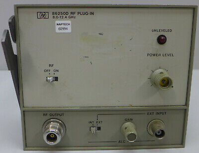 HP 86250D RF Plug In 8.0 to 12.4 GHz #2
