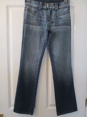 Kit Jeans size 10. Blue. 2 unusual front pockets. Good condition.