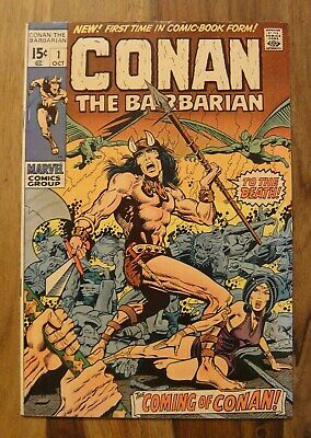 Conan the Barbarian #1 1970 SIGNED BY BARRY WINDSOR SMITH Original !!!