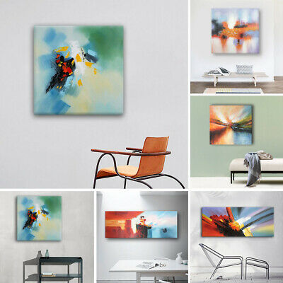Modern Abstract Oil Paintings Hand Painted On Canvas Wall Art Home Decor Framed