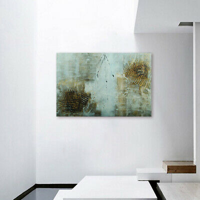 Modern Abstract Hand Painted Canvas Oil Painting Wall Art Home Decor Framed