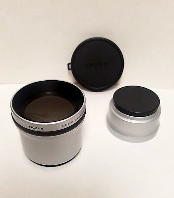 Sony VCL-DEH17V  Tele Conversion Lens 1.7x Tested