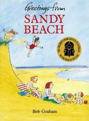 NEW Greetings from Sandy Beach By Bob Graham Paperback Free Shipping