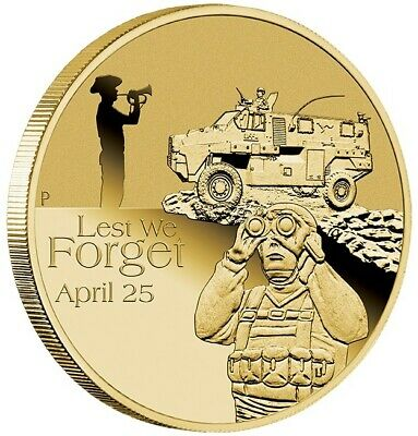 2016 ANZAC Day Royal Australian Armoured Corps One Dollar Coin