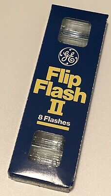 General Electric Flip Flash II 8 flashes per pack brand new pack