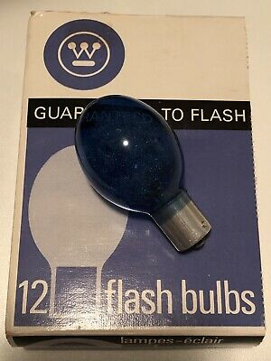 Westinghouse 5B Flash Bulbs 6 per box brand new old stock