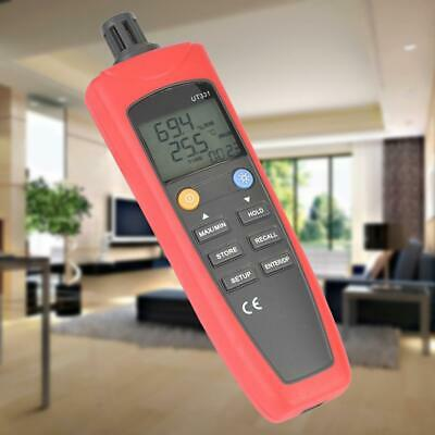 UNI-T USB Digital LCD Display Thermometer Hygrometer Temperature Humidity Meter