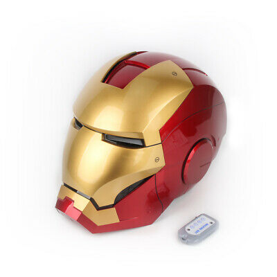 Avengers4 Iron man armor human helmet cosplay wearable MK7 Electric hot in stock