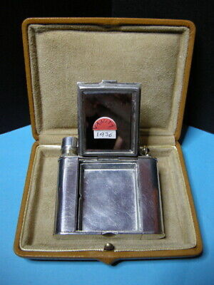"Rarissimo Set Alfred Dunhill ""The Vanity"" - Accendino, Briquet Lighter Feuerzeug"