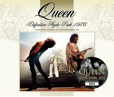 Queen - 2Cd +Dvd - Definitive Hyde Park 1976