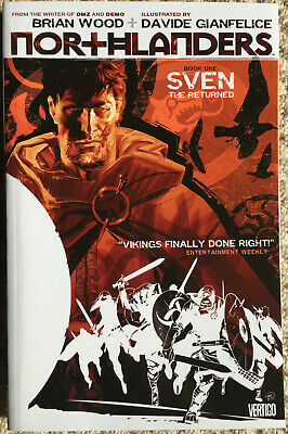 NORTHLANDERS Book One SVEN THE RETURNED graphic novel Brian Wood first print