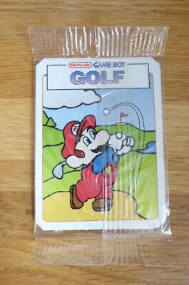 Kellogg's Nintendo Game Boy Mario Golf Card 1993 Mint In Pack