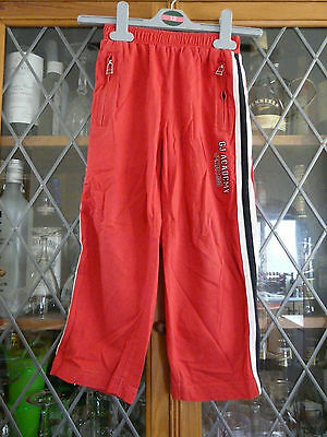 GJ Academy RED JOG PANTS 2-3Yrs **GC**
