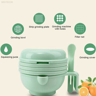 CE56 Safe PP Juicer Baby Food Masher Maker Grinder Juicer Multifunction