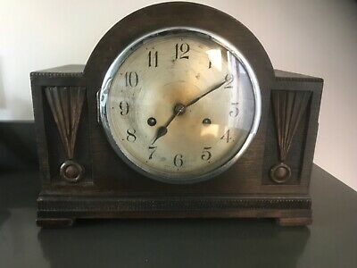 Antique Art Deco mantle clock 1920s