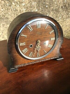 Smiths Enfield vintage mantle clock