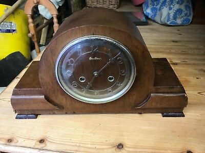 bentimo antique napoleon hat mantel clock