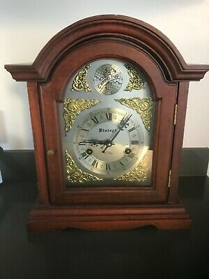 Vintage large 31 day mantle clock