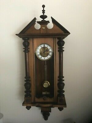 Antique Vienna wall clock circa 1900