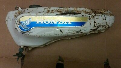 Honda PC50 Fuel tank including tap and cap