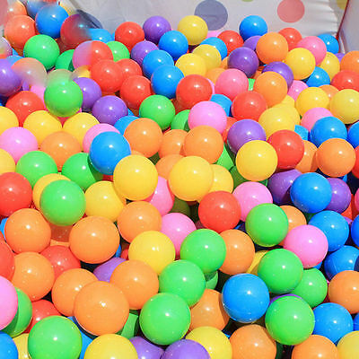 50-500PCSOcean Ball Plastic Colorful Balls Toy Secure For Kid Baby Pit Swim CPHD