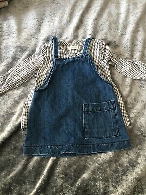 girls next oufit dress and top age 3-6 months