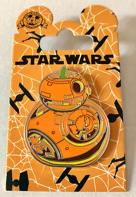 BB-8 BB8 Star Wars Pumpkin Disney Pin Halloween 2018 Open Edition Disney Pin