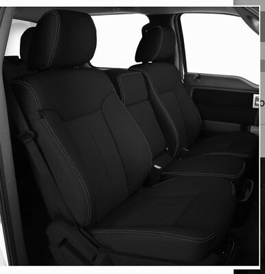 Magnificent 2013 2014 Ford F 150 Xlt Supercrew Katzkin Leather Seat Squirreltailoven Fun Painted Chair Ideas Images Squirreltailovenorg