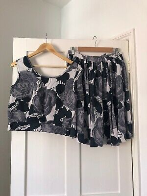Original 1950s Skirt And Top Rockabilly True Vintage