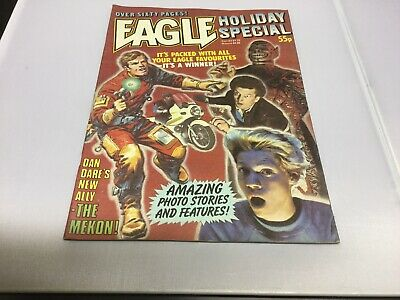 EAGLE Comic - Holiday special - Year 1983 - UK Si Fi Comic