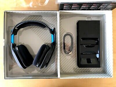Astro Gaming A50 Wireless Headset + Base Station for PS4 and PC- PRISTINE!!