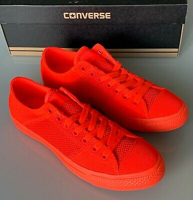 f4f88ceea1eec SNEAKERS CONVERSE - rouge fluo - taille 43 - NEUVES - EUR 35
