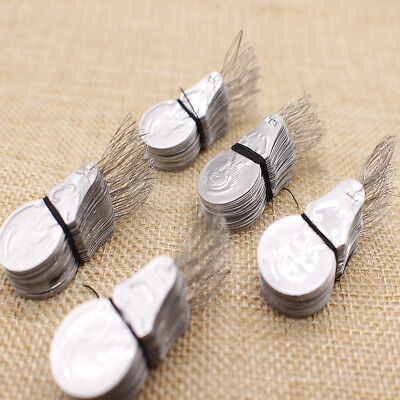 100pcs Needle Threader Gourd Shaped Stitch Insertion for Embroidery Craft Sewing