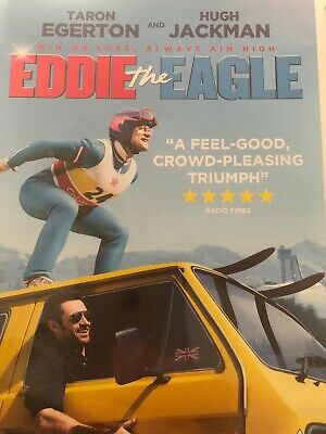 Eddie the Eagle DVD (2016) Taron Egerton