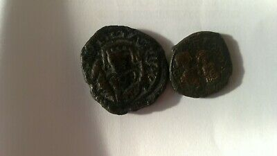 Lot of Two  Byzantine coins