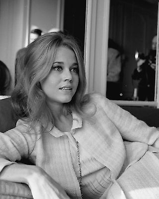 Jane Fonda 8x10 Photo Clasic Vintage Celebrity Actress Model Print 111516
