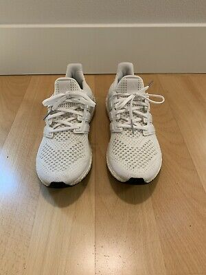 416249697e63b ADIDAS ULTRA BOOST 1.0 Triple White OG Mens Sz 9.0 USED -  120.00 ...
