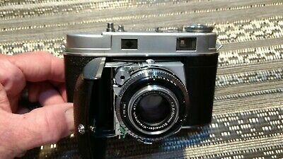 Vintage Kodak Retina IIc 35mm Camera with Original Case, Manual and Box f2.8 50