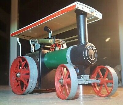 Mamod Steam Tractor, Model TE1A c/w 40 fuel cells in very good working condition