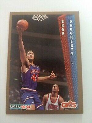 a1f24d0ab032d 1989-90 FLEER #25 Brad Daugherty Cleveland Cavaliers Basketball Card ...
